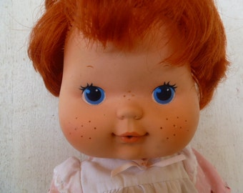 Strawberry Shortcake Blowing Kissed Cloth Doll with Vinyl Face