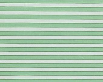 Verna Mosquera, Striped Fabric, Rosewater Fabric, Cabana Stripe in Daiquiri, Fabric by the Yard, One Yard