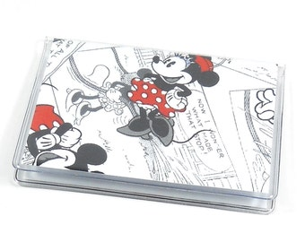 SALE Card Case Mini Wallet Mickey & Minnie Mouse