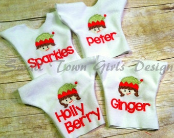 Personalized Elf Shirt for your Elf Doll