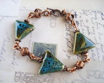 Copper Celtic Knot Bracelet Free Shipping