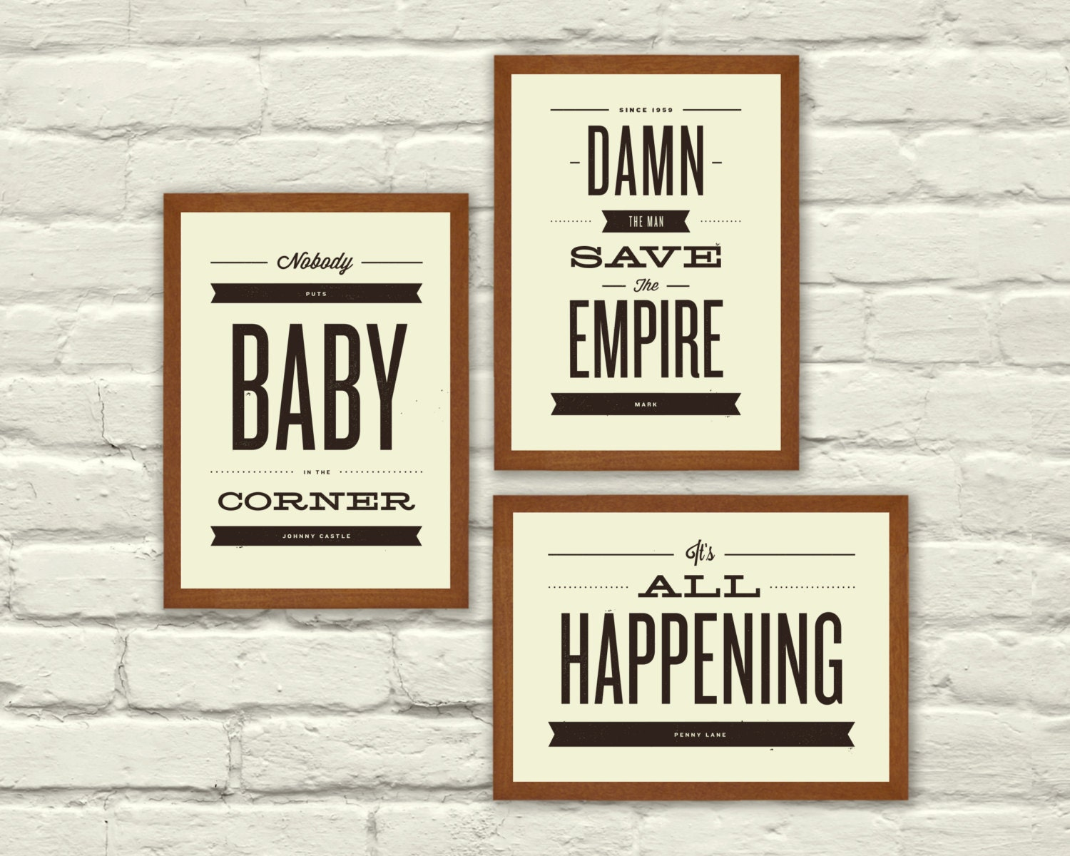 In Quotes About Love Movie quotes typography