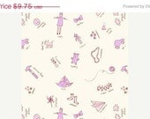 On Sale - TOYROOM in Lilac - Children at Play - Michael Miller Fabric - 1 Yard
