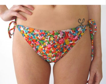 Sprinkles String Swim Bottom