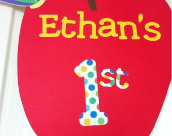 The VERY HUNGRY CATERPILLAR Inspired Birthday Party Door Sign