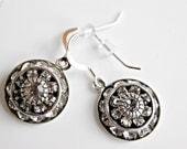 Swaorvski Crystal Earrings, Clear Dangle Earrings, Bridal Jewelry, Bridesmaids Jewelry