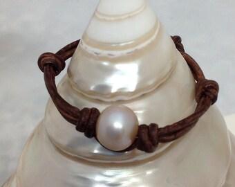 The Wee Little 1 Pearl Bracelet
