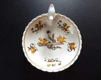 Baby Dish Vintage French Limoges Food Warmer