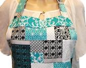 Quilt print  apron
