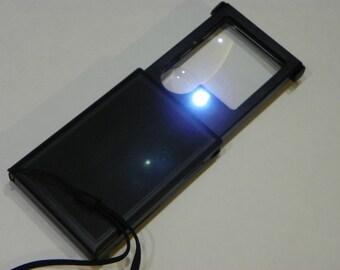 CLOSEOUT!  3X / 6X LED Magnifier