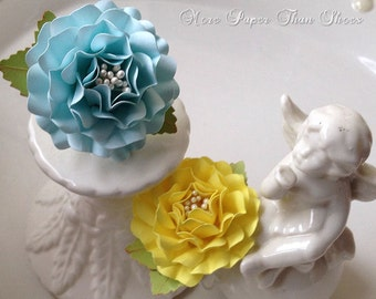 Napkin Rings - Paper Flowers - Weddings - Birthdays - Holidays - Table Decorations - Made To Order - Set of 50