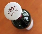 Custom Monogram Wine Stopper