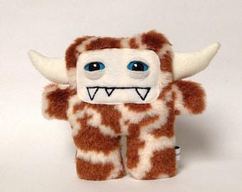 Giraffe plush monster - Gerald the stuffed monster plush giraffe