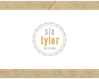 PreDesigned Logo - PreMade Logo - Vector Logo - SIA Logo Design - Round Logo - Circle Logo - Logo Emblem - Logo Crest