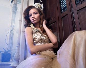 Vintage Inspired Tiara Crown