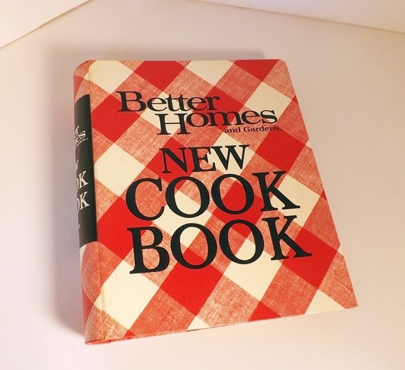 Better Homes And Gardens New Cookbook 1972