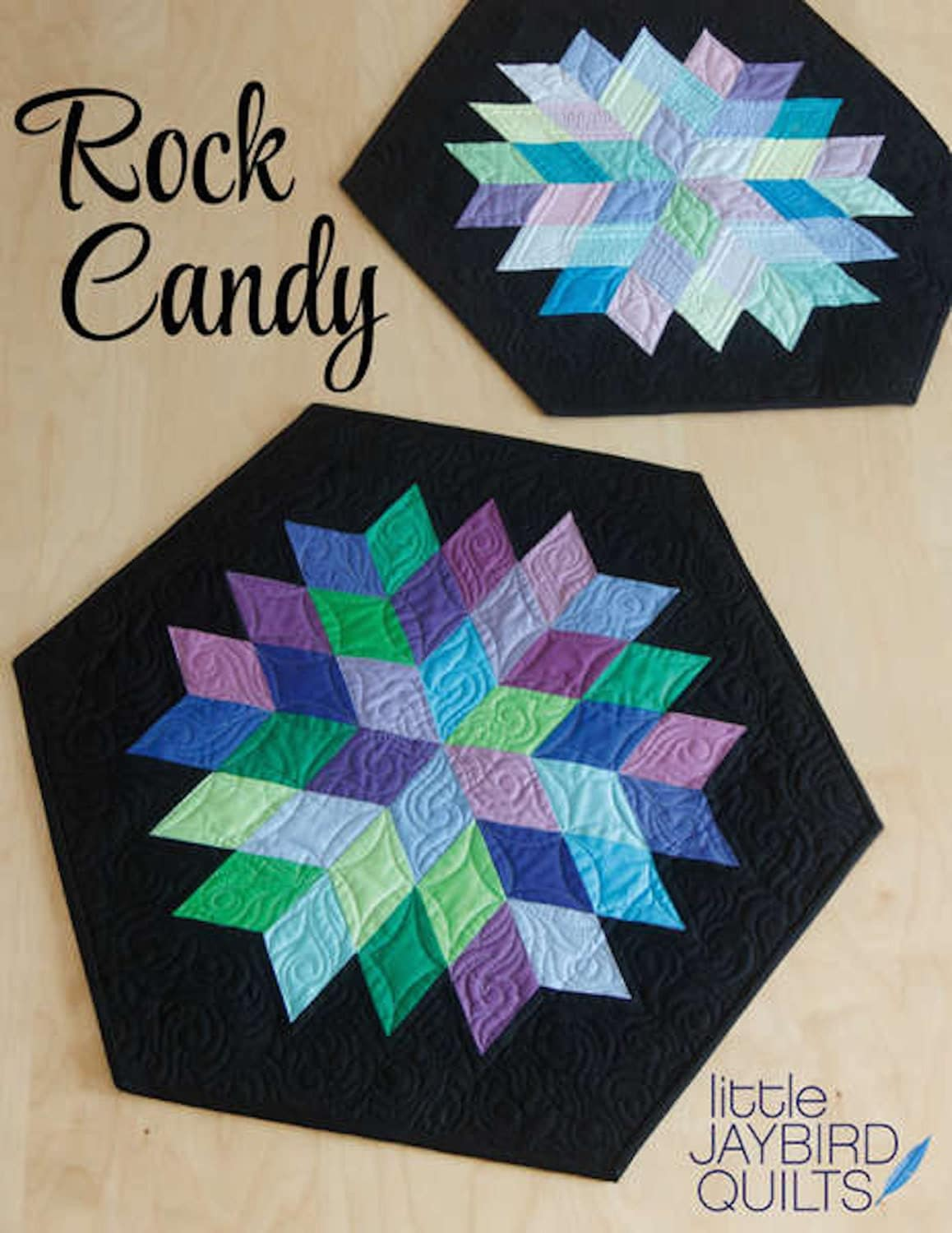 Rock Candy Quilt Pattern Table Topper By Jaybird Quilts