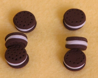 6 oreo cookies  doll food for American Girl dolls