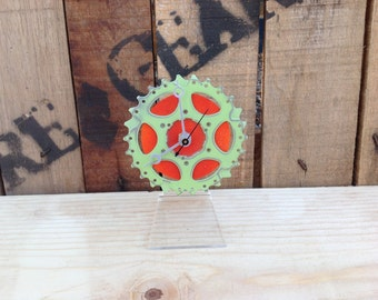 SALE  --  BIKE GEAR - Desktop Clock #4 / 50% Off