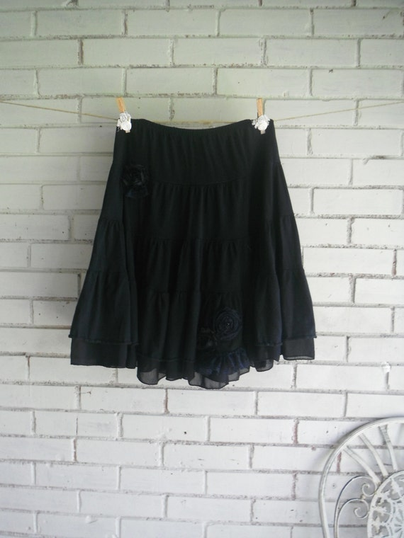 Black Broom Skirt 31