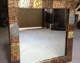 Paul Evans Patchwork Wall Mirror