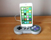 Super Nintendo SNES controller iPod touch iPhone 6 5 5S 5C usb charging dock