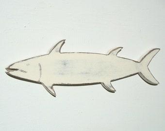 wood fish nautical wood wall art