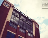 Home of Aaron Rodgers // 5x7 Green Bay Packers Photography // Lambeau Field Print