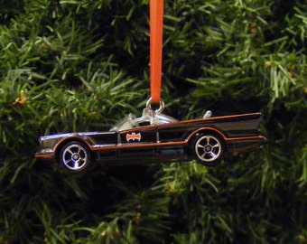 1960s 1970s Batman TV Show Batmobile Hot Wheels Christmas Ornament