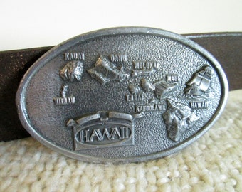 Hawaii Belt Buckle, Arroyo Grande Buckle Co