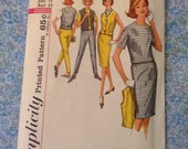 "Vintage McCall's 4823 Skirt, Blouse, Pants & Weskit Wardrobe Sewing Pattern 34"" Bust"