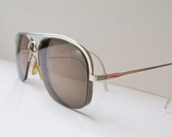 REDUCED 1990s French Vintage Aviator frames