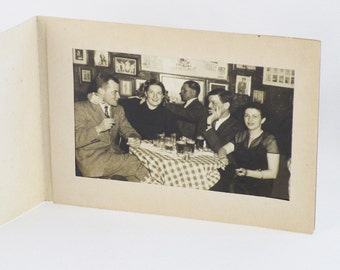 1950s Souvenir Folder and Photo from The Fraternity House in New York