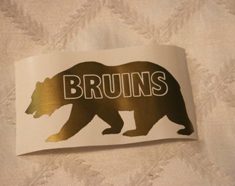 UCLA Bruins Bear Vinyl Decal