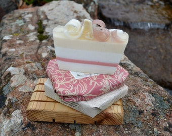 Soap~ All natural Soap~ Organic Soap~ Vegan Soap~Almond Soap