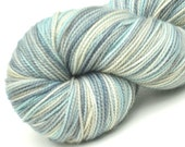Sock Yarn Beachcomber hand dyed 80/20 superwash merino / nylon  sock / fingering weight yarn