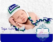 FREE SHIPPING!! Go Team Go! Canucks baby child hat photo prop