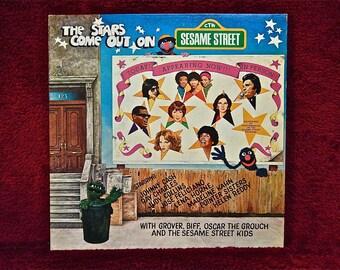 SEALed SESAME STREET - Sesame Street Forever - 1978 Vintage Vinyl Record Album