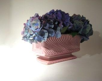 Pink McCoy Planter - Rectangular - Vase - Mauve