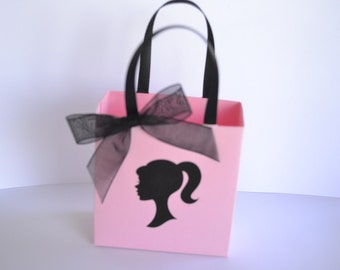 Barbie party favor bags