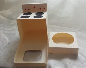 cupcake oven box DIY