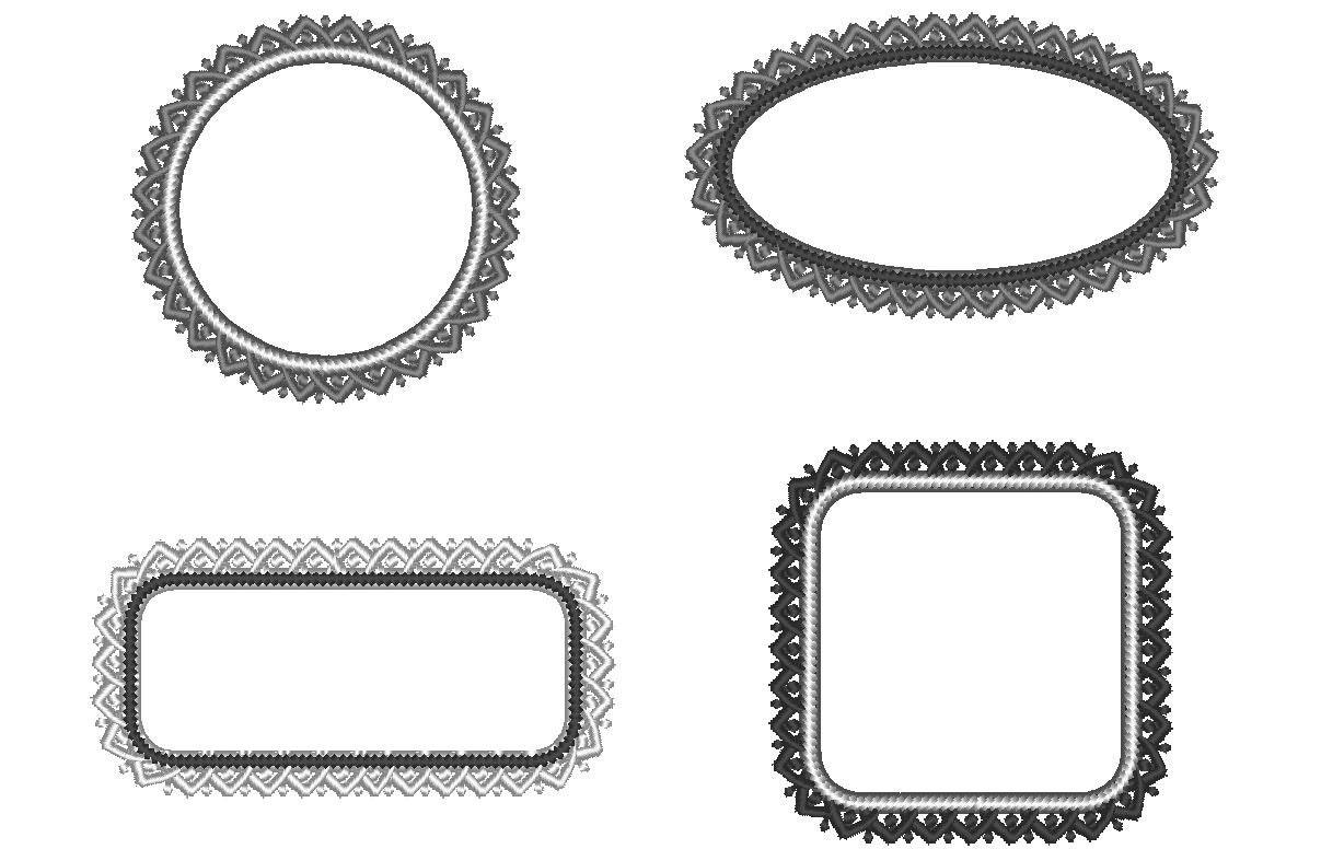 applique frames embroidery machine