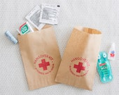 Hangover Kit Bags - Paper Bag Hangover Kit - Bachelorette Hangover Kit