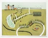 SALE Item - City Park Print