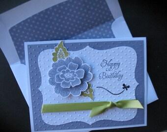 Female Birthday Card - Floral
