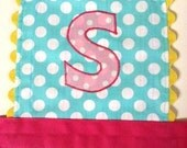 Embroidered Applique Initial.....On Any Apron From My Shop~