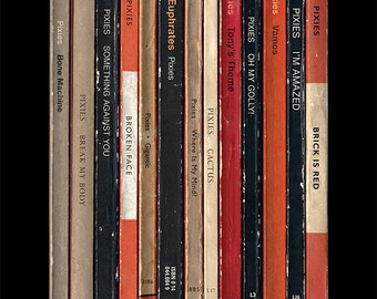 Pixies 'Surfer Rosa' Album As Penguin Books Poster Print Literary Print