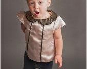 The Jackie: Retro Dress PDF Pattern, Girls Dress Pattern, Baby & Toddler Dress Pattern, Blouse Pattern
