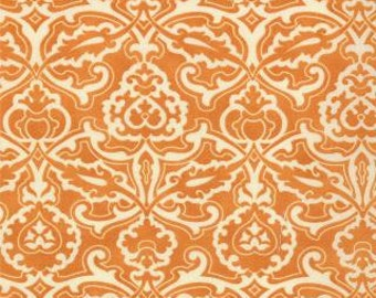 1 yard of Honeysweet Scrollwork Persimmon by Fig Tree Quilts for Moda