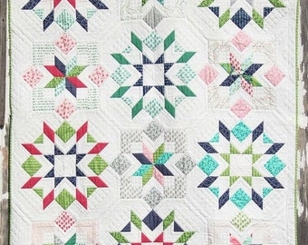 Flower Box Quilt Pattern by Vanessa of V & Company
